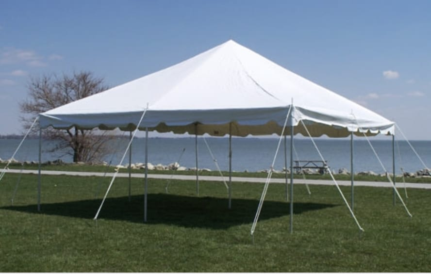 pole tent rental in pearland tx