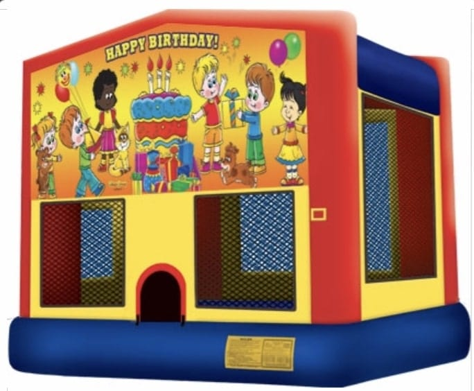 Birthday Party Fun House for children