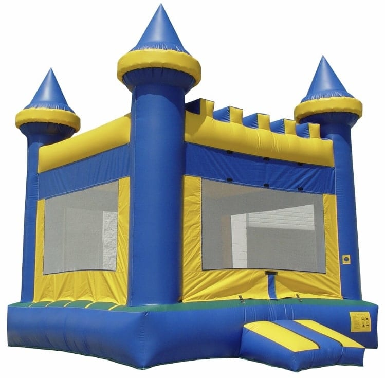 caslte rental for boys birthday party