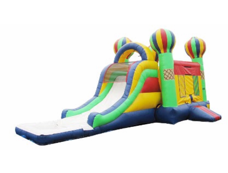 Carnival Combo Moonwalk Slide for party rental