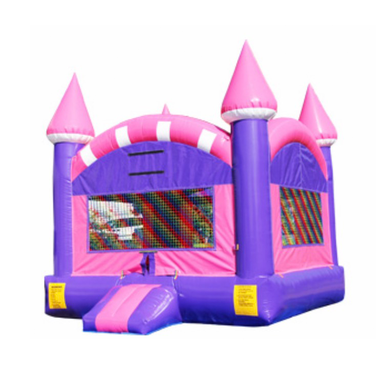 Princess Colorful moonwalk Castle Rental