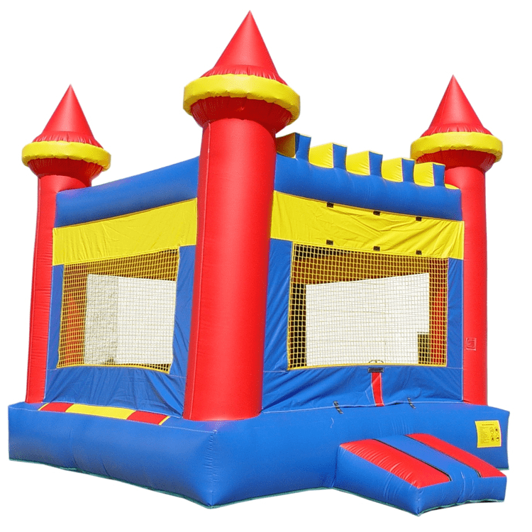 Castle Moonwalk Bounce House