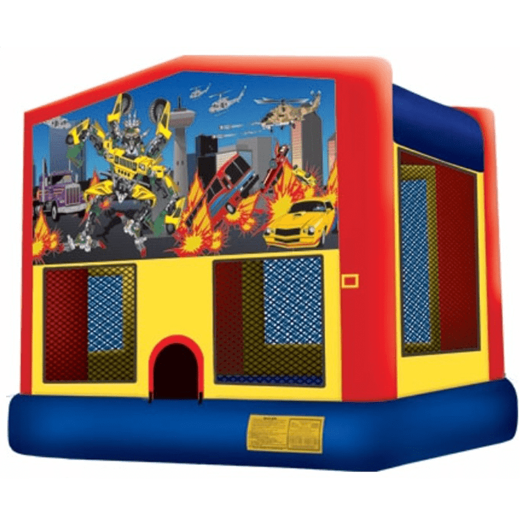Robot Cars - Transformer Bouncer for kids party
