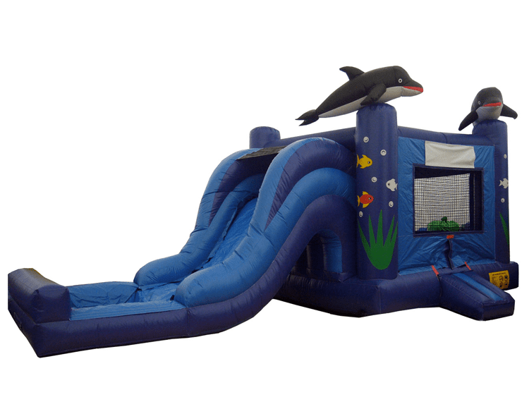 SeaWorld Combo Moonwalk Slide rental
