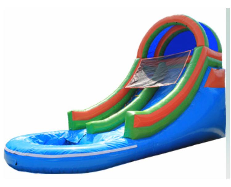 Summer Splash Slide rental for party
